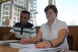 Rainilda e Rodrigo, da Tributação, trabalham na base de cálculo: aumento é considerável, mas pode ser bem aceito