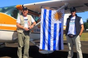 Leonel cruzou pela primeira vez fronteira do Uruguai com o Brasil